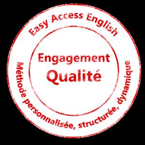 Tampon Qualilté - Cours d'anglais à Montpellier