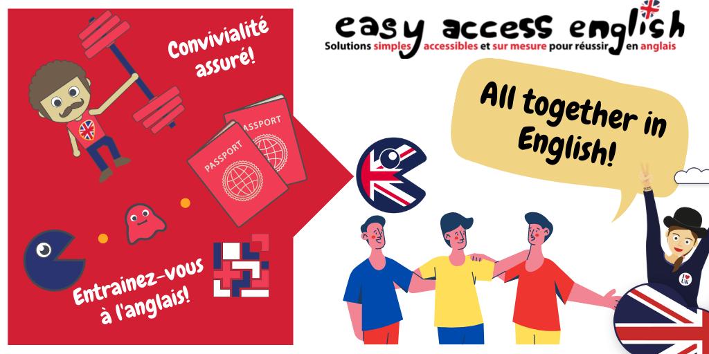 Ateliers en anglais pour adultes à Montpellier